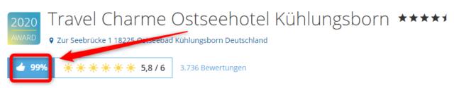 travel charme ostseehotel kuehlungsborn holidaycheck