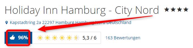 holidayinn hamburg city nord bewertungen holidaycheck