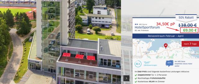 hrsdeals_hotelsportforum_rostock_preis