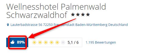 wellnesshotel palmendwald schwarzwaldhof bewertungen holidaycheck