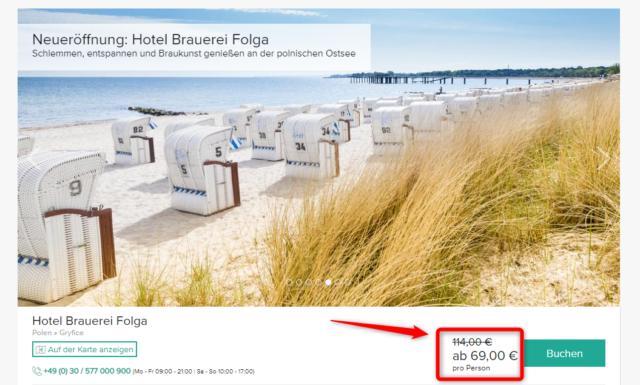 brauerei hotel folga angebot travelcircus 1