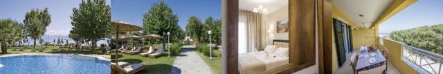 hotel robolla beach pool aussenansicht zimmer balkon