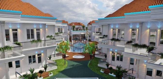 turkismeer resort anlage mit pools