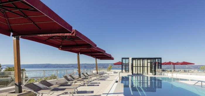 plaza duce hotel kroatien pool
