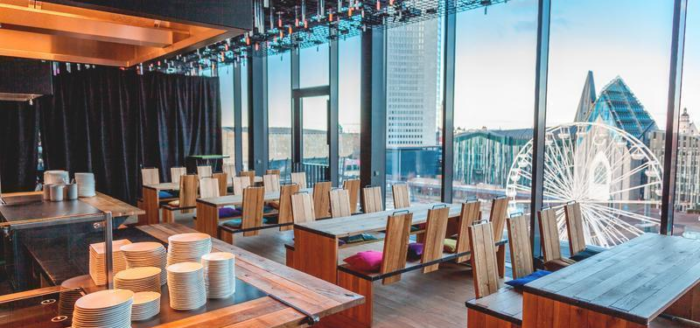 stadthotel felix im lebendigen haus restaurant