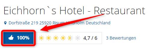 eichhorns hotel restaurant bewertungen holidaycheck