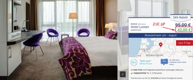 hrsdeals_hotellumen_zwolle_preis
