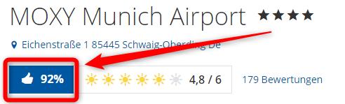 moxy munich airport bewertungen holidaycheck