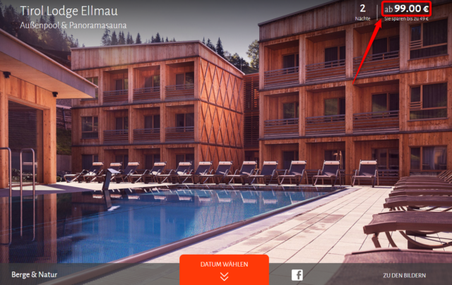 tirol lodge ellmau angebot travador