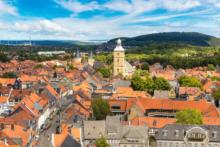 goslar stadt von oben