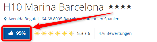 h10 marina barcelona bewertungen holidaycheck