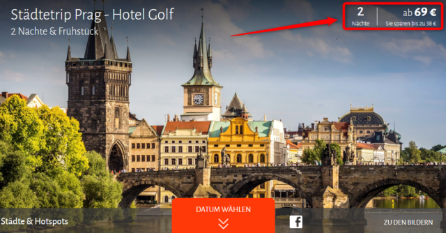 hotel golf prag travador angebot