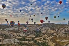 kappadokien heissluftballons tuerkei
