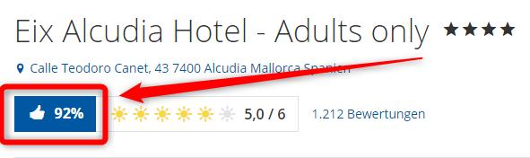 eix alcudia hotel bewertungen holidaycheck