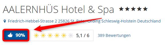 aalernhues hotel spa bewertungen holidaycheck
