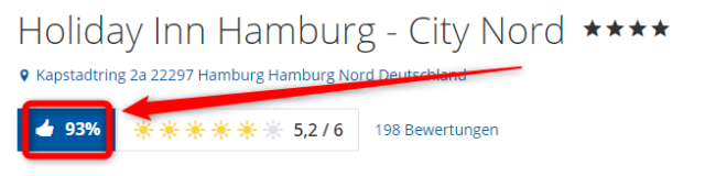 holiday inn hamburg city nord bewertungen holidycheck