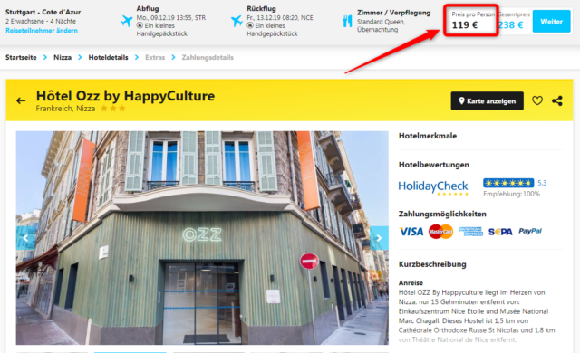 angebot hotel ozzbyhappyculture nizza deal hlx