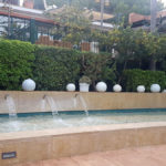 garten wasserfall les rotes hotel