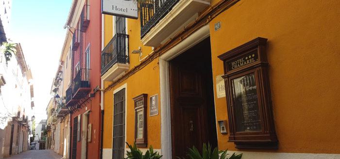 hotel chamarel aussen