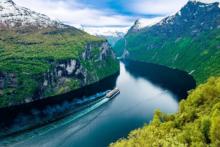 norwegen fjorde aida