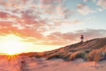 sylt strand meer leuchtturm