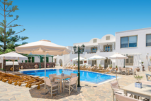 hotel mathios village anlage pool