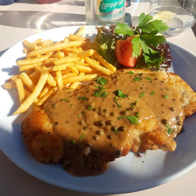 restaurant dunan schnitzel