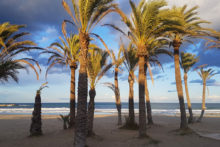 strand winter in denia