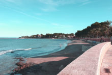 strandpromenade denia