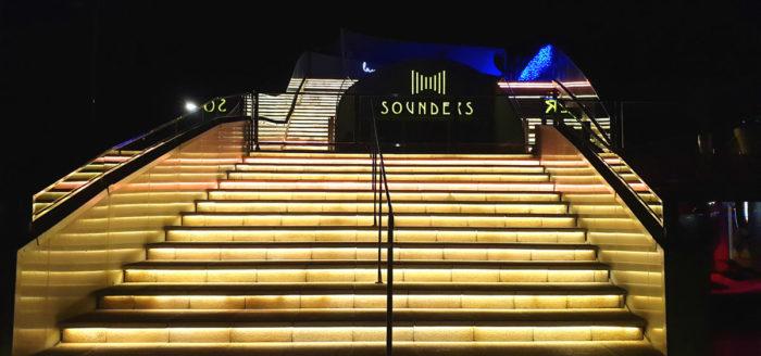 tanzen in denia sounders bei nacht