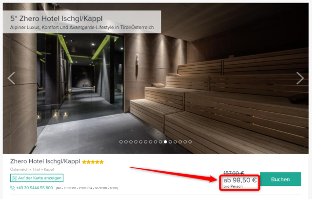 zhero hotel ischgl kappl deal travelcircus