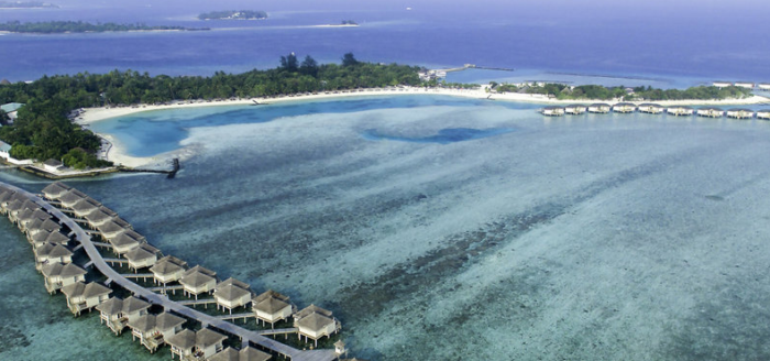 cinnamon dhonveli maldives von oben