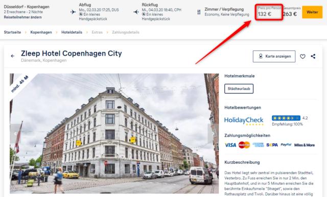 zleep hotel copenhagen city deal lufthansa holidays
