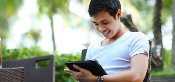 lachen mobile sprachen lernen