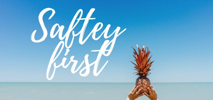 saftey first corona