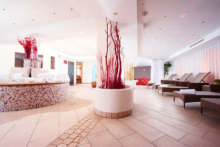 q hotel maria theresia wellnessbereich