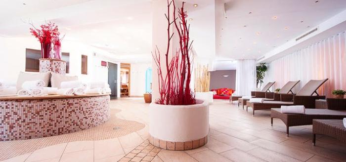 q hotel maria theresia wellnessbereich