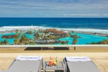 h10 tenerife playa terrasse