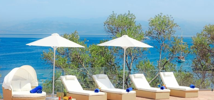 terrasse mit ausblick kairaba mythos korfu