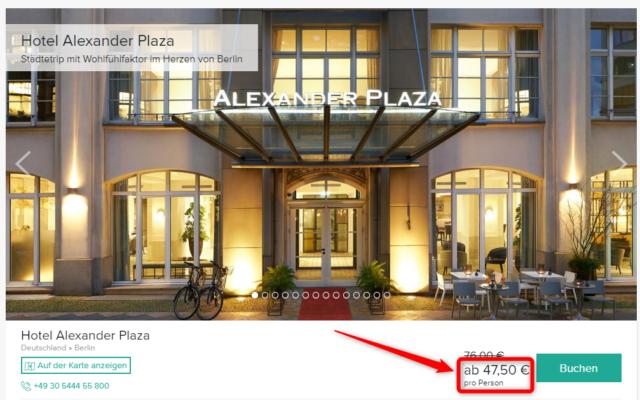 hotel alexander plaza angebot travelcircus