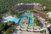 xanadu resort hotel von oben